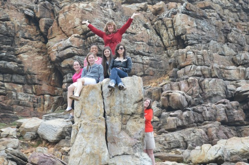 "The Cape of Good Hope (with the help of Hallie ""the rock"")"