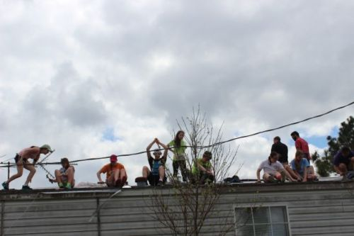 Crew 6 on the roof