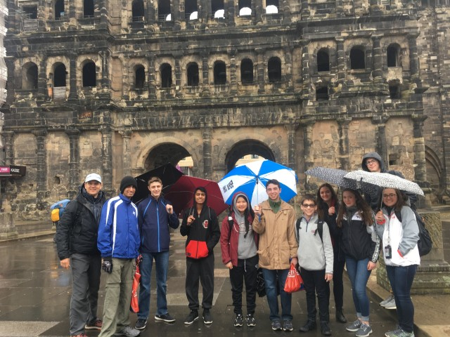 Trier group in rain keeper